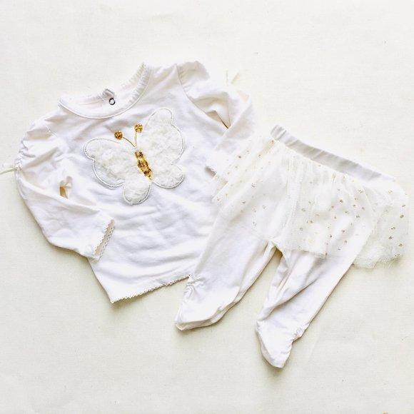 PM Editor Pick 💋 Nannette Baby Butterfly Tutu Set